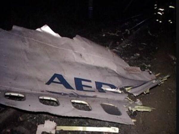 История катастрофы Боинга-737 в фотографиях очевидцев