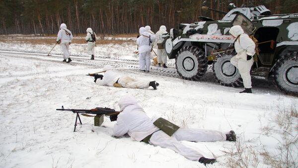 Военнослужищие инженерной роты армии ЛНР. Архивное фото