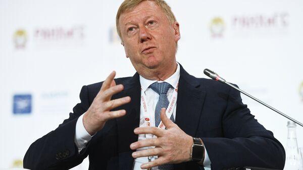 Председатель правления УК Роснано Анатолий Чубайс
