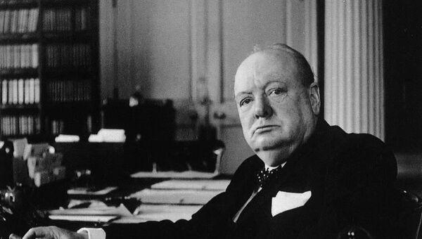 Уинстон Черчилль. Архивное фото