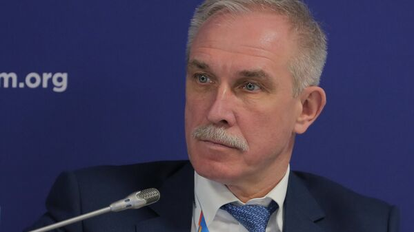 Губернатор Ульяновской области Сергей Морозов на Российском инвестиционном форуме в Сочи