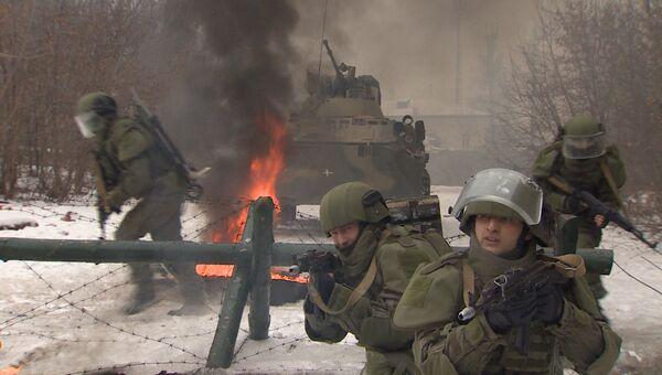 Военные применили новейшие штурмовые костюмы ОВР-3Ш на учениях под Владимиром