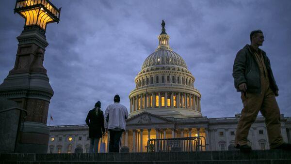 Вид на здание Капитолия в Вашингтоне. Архивное фото