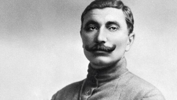 Семен Михайлович Буденный, командующий Первой Конной армией РККА, советский военачальник. 1919 год