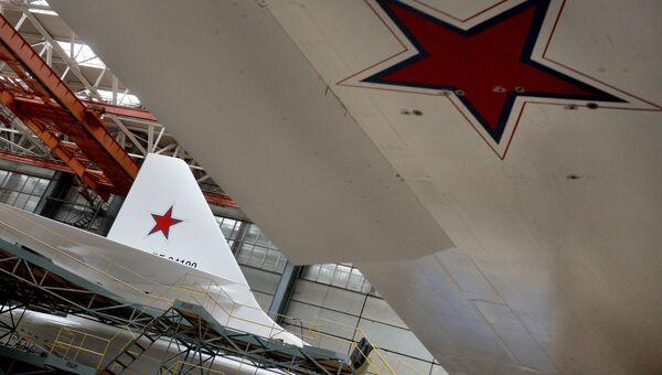 Самолеты  на Казанском авиазаводе, филиале ПАО Туполев. Архивное фото