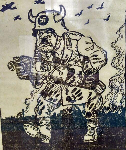 Фашистский Культуртрегер. Газета Знамя Победы, 1941 г., 4 августа, №116