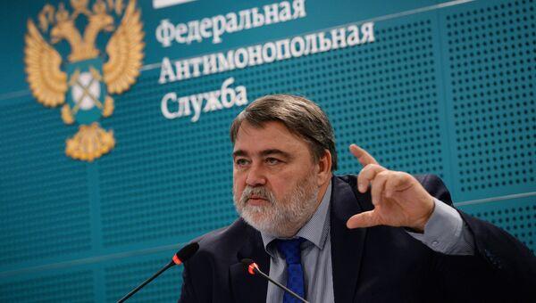 Руководитель Федеральной антимонопольной службы Игорь Артемьев. Архивное фото
