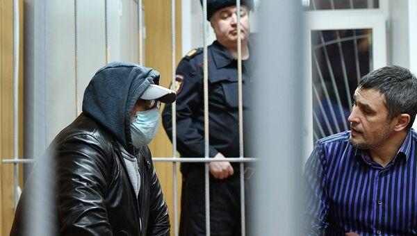 Руководитель секты бога Кузи Юрий Цукерман на заседании в Тверском суде Москвы. 26 января 2018