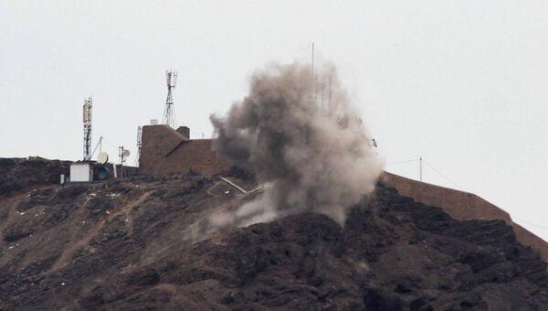 Бои в йеменском городе Аден, вспыхнувшие между сепаратистами и правительственными силами