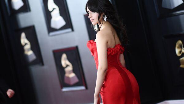 Кубино-американская певица Камила Кабельо на 60-й церемонии Грэмми