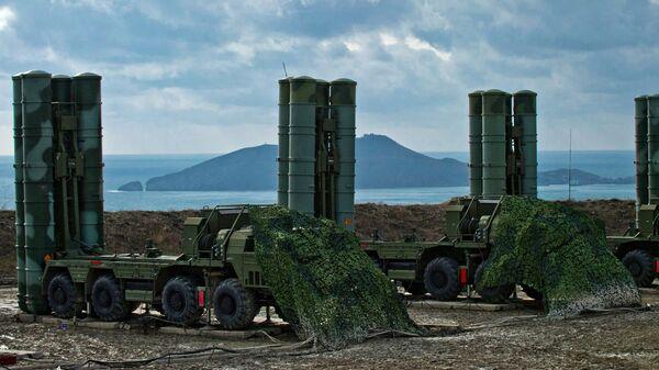 Зенитный ракетный комплекс С-400 Триумф в Крыму