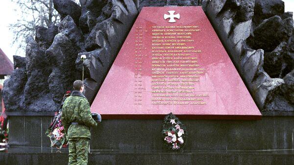 Обелиск в честь воинов-десантников 6-й роты погибших в Чечне