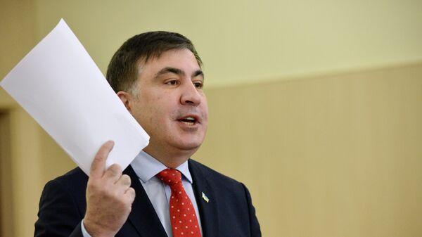 Михаил Саакашвили. Архивнео фото