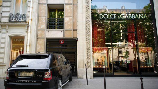 Dolce&Gabbana в Париже. Архивное фото