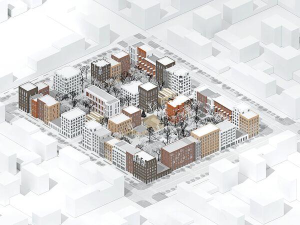 Концепция среднеэтажной застройки от DNK Architectural Group