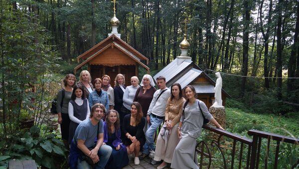 Сотрудники и добровольцы службы Милосердие в паломничестве