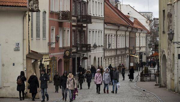 Вильнюс, Литва. Архивное фото.