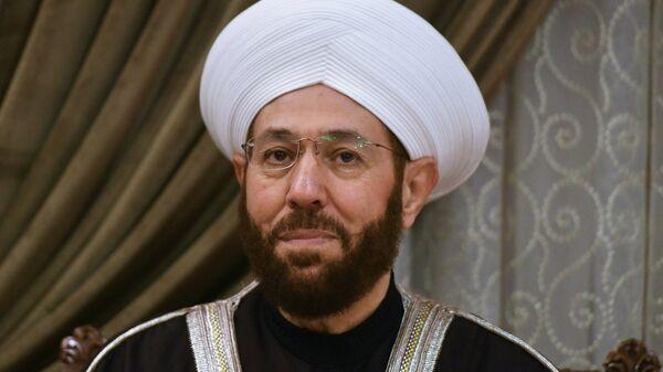 Верховный муфтий Сирии Ахмад Бадреддин Хассун, архивное фото