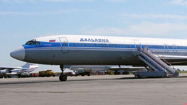 Самолет авиакомпании ОАО Дальавиа
