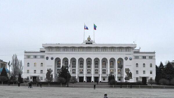 Здание правительства Дагестана в Махачкале. Архивное фото