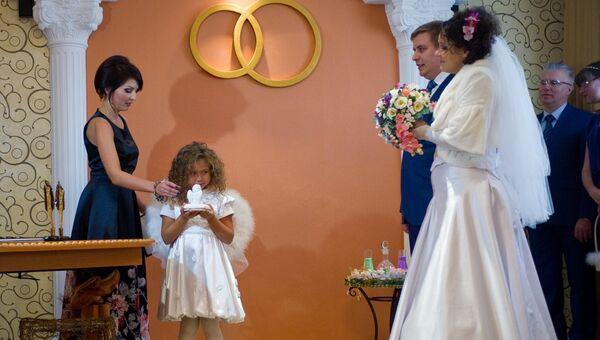 Церемония регистрации брака в Крыму