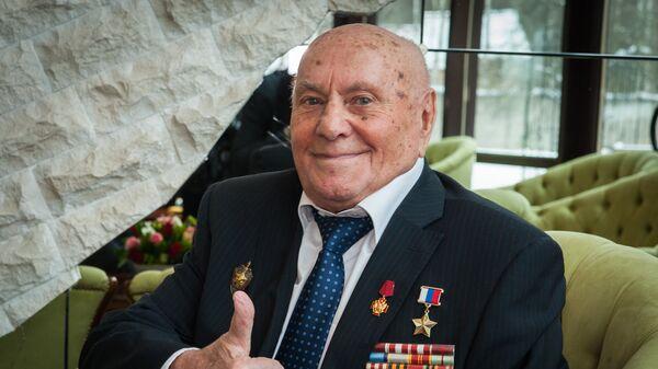 Герой России, разведчик, ветеран Великой Отечественной войны Алексей Ботян