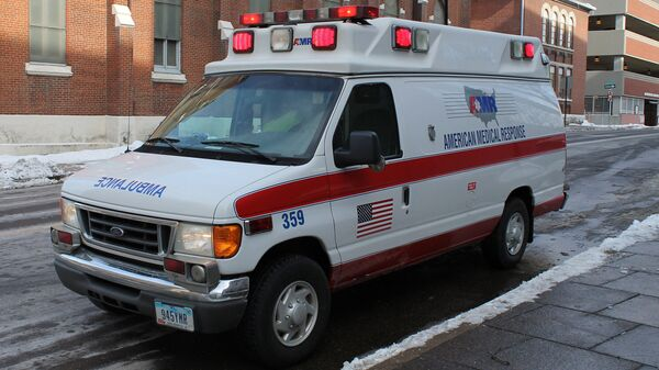 Автомобиль скорой помощи в США