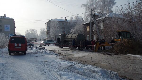 В городе Тавде Свердловской области коммунальные службы восстанавливают холодное водоснабжение. 11 февраля 2018