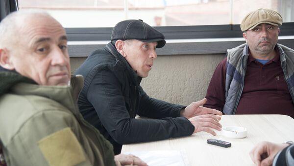 Генерал Тристан Цителашвили, Александр Ревазишвили и Коба Нергадзе
