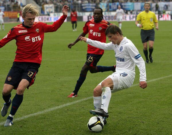 Андрей Аршавин в матче против ЦСКА