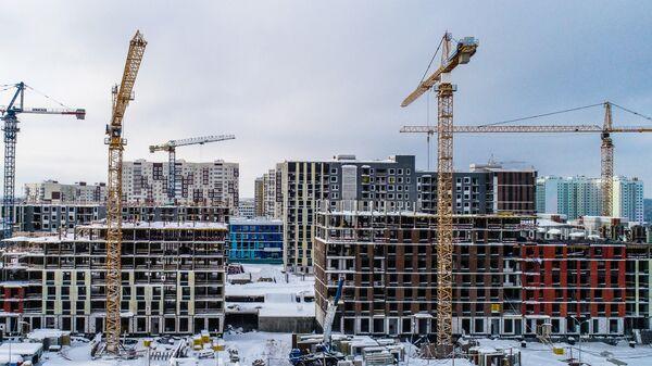 Строящиеся дома в Новой Москве. Архивное фото