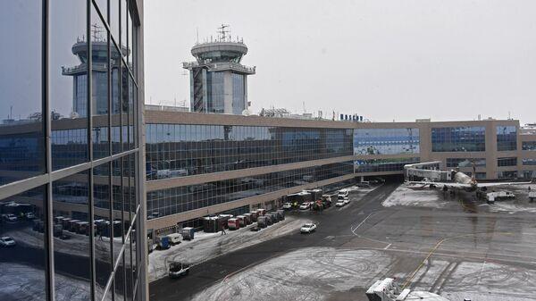Здание Московского аэропорта Домодедово