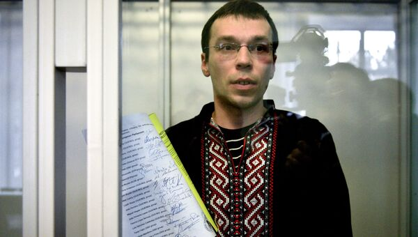 Журналист Василий Муравицкий, обвиняемый на Украине в госизмене за свои публикации в СМИ. Архивное фото