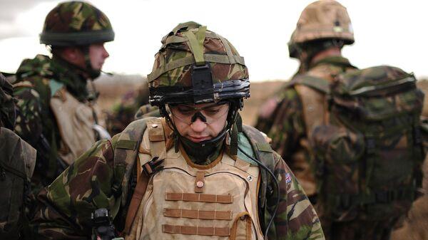 Британские военные