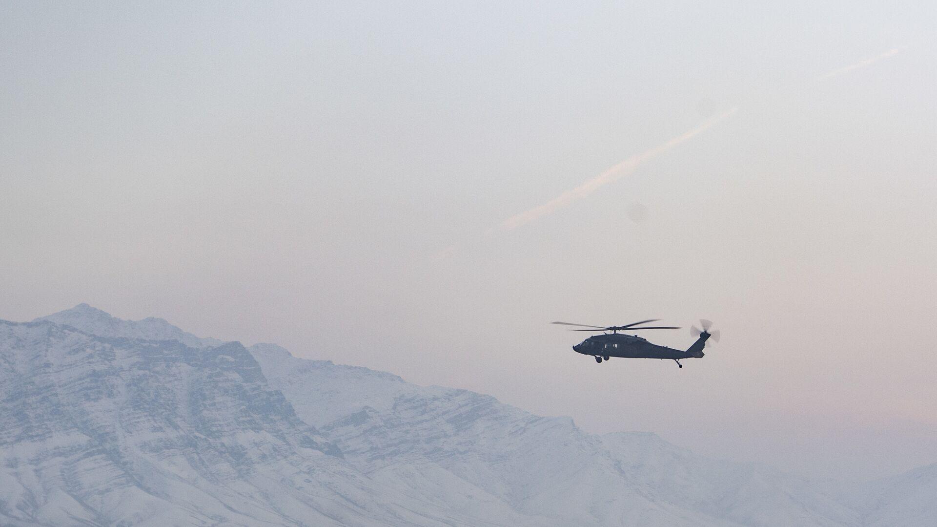 Вертолет ВВС США в Афганистане - РИА Новости, 1920, 04.03.2021