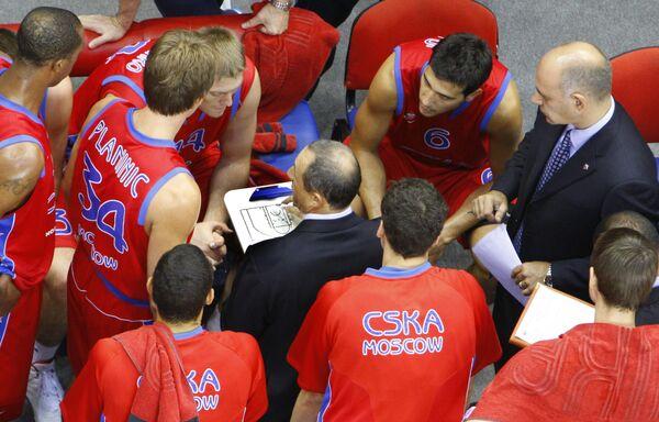 Баскетболисты ЦСКА на Кубке Александра Гомельского
