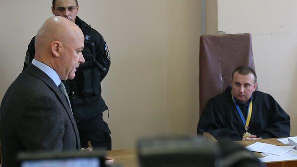Суд над бывшим мэром Одессы Геннадием Трухановым в Киеве. 22 февраля 2018