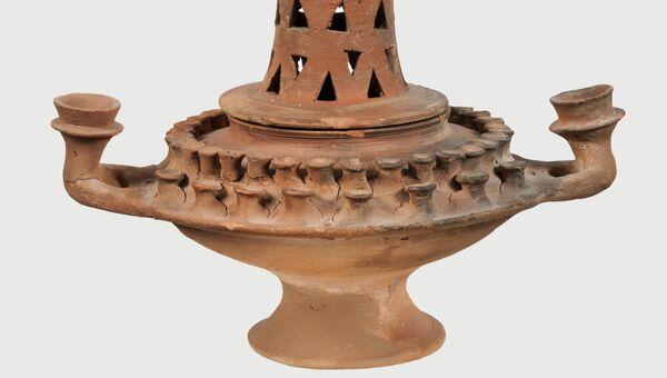 Светильник, церемониальный сосуд из Элевсины