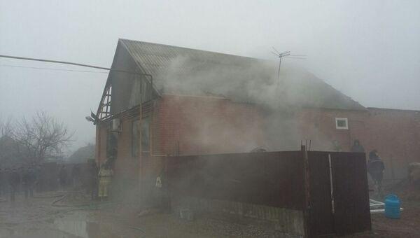 Взрыв бытового газа в Шалинском районе Чеченской республики. 27 февраля 2018