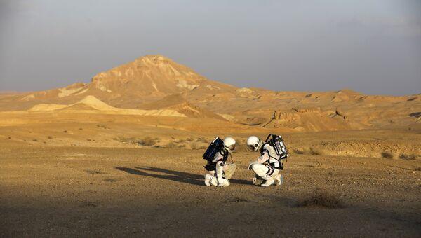 Симуляция экспедиции на Марс в рамках проекта D-MARS. 18 февраля 2018 года