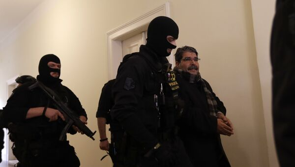 Освобождение из-под стражи в Чехии бывшего лидера сирийских курдов Салиха Муслима. Архивное фото