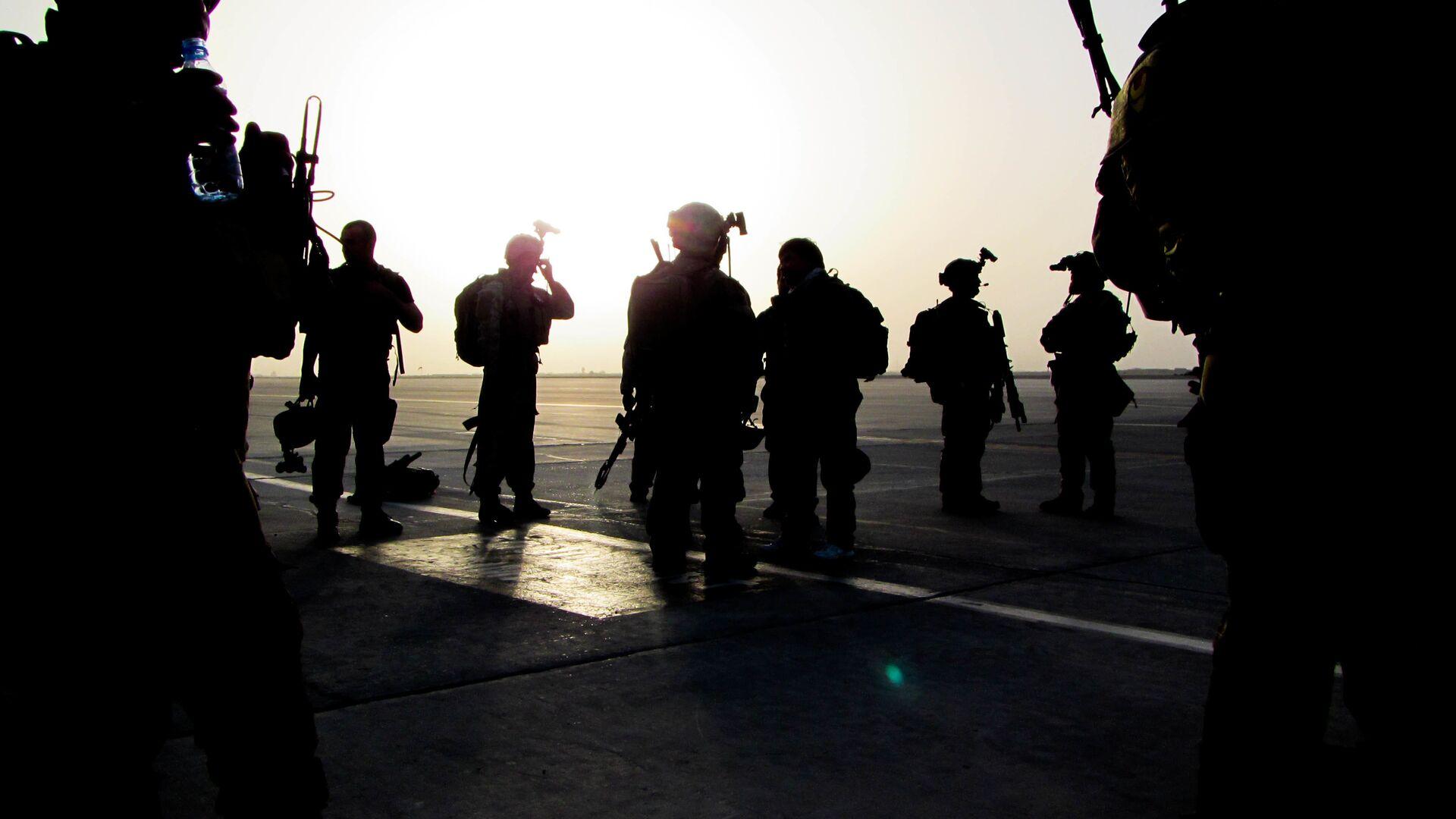 Солдаты спецназа США (зеленые береты) в Афганистане - РИА Новости, 1920, 25.04.2021