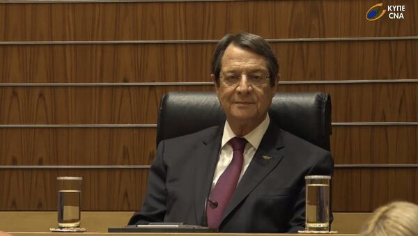 Трансляция вступления в должность президента Кипра Никоса Анастасиадиса