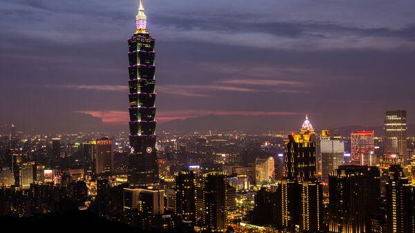 Башня Тайбэй 101, Тайвань. Архивное фото