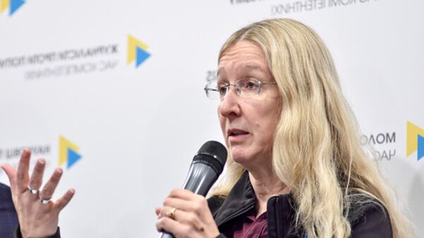 Исполняющая обязанности министра здравоохранения Украины  Ульяна Супрун