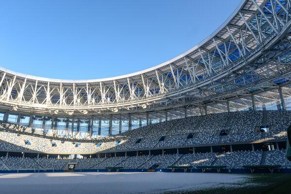 Стадион Нижний Новгород, где пройдут матчи чемпионата мира по футболу 2018