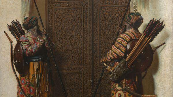 В.В.Верещагин. Двери Тимура (Тамерлана). 1872