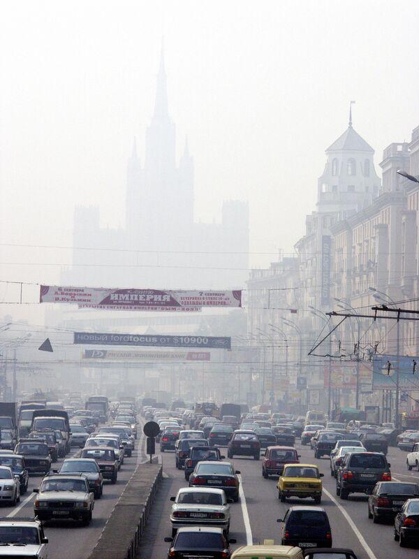 Смог над Москвой. Архив
