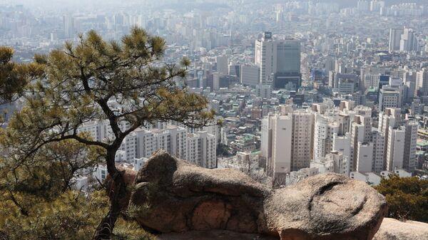 Национальный парк Пукхансан в Сеуле
