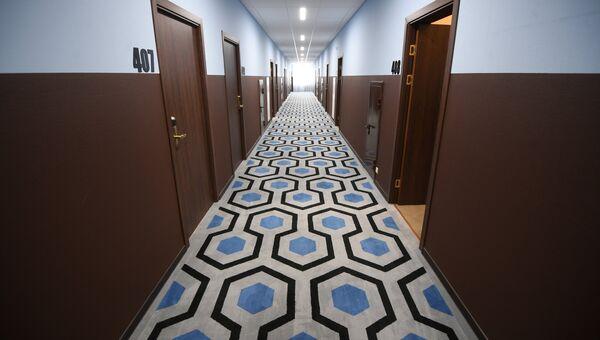 Гостиничный коридор. Архивное фото